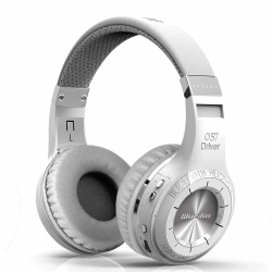 BLUEDIO - Bluedio HT Beyaz Mikrofonlu Kulaklık