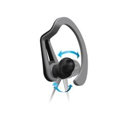 Pioneer SE-E5T-H Gri Kulak İçi Spor Kulaklık - Thumbnail