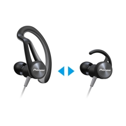 Pıoneer - Pioneer SE-E5T-H Gri Kulak İçi Spor Kulaklık (1)