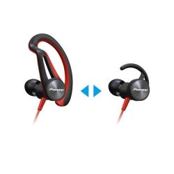 Pıoneer - Pioneer SE-E5T-R Kırmızı Kulak İçi Spor Kulaklık (1)