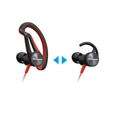 Pioneer SE-E5T-R Kırmızı Kulak İçi Spor Kulaklık