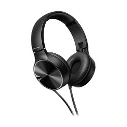 PIONEER - Pioneer SE-MJ722T-K Siyah Kulak Üstü Kulaklık