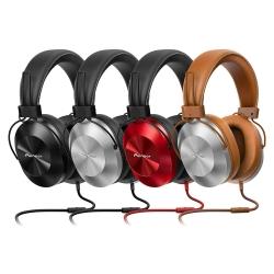 Pioneer SE-MS5T-S Gümüş Kulak Üstü Kulaklık - Thumbnail